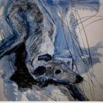 Greyhound 5 by Margo Banks