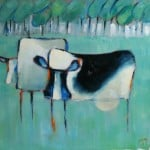 Cows I by Denise Hussey