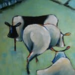 Cows II by Denise Hussey