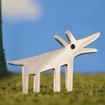 Best Friend Dog Brooch by Alan Ardiff
