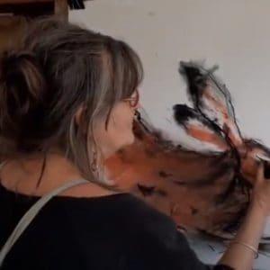 Artist Margo Banks