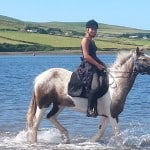 Minny at the Banks, Dingle by Dingle Horse Riding
