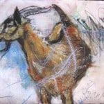 Claudias goat by Margo Banks