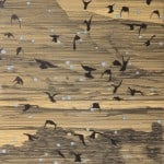 Starlings by Niall Naessens: Irish art at The Greenlane Gallery