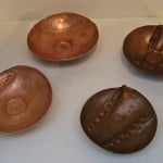 Small Copper Bowls by Mary Jane Verniere