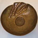 Medium Copper Bowl by Mary Jane Verniere