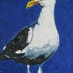 Standing Gull by Michael Flaherty