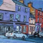 Main Street Dingle by Michael Flaherty