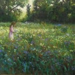 Spring Meadow by Vivienne St Clair