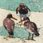 Oyster Catchers II by Annabel Langrish