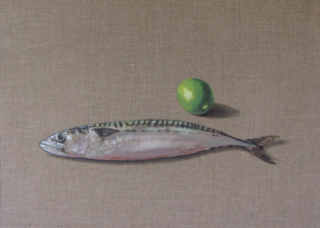 Mackerel and Lime by Richard Hearns