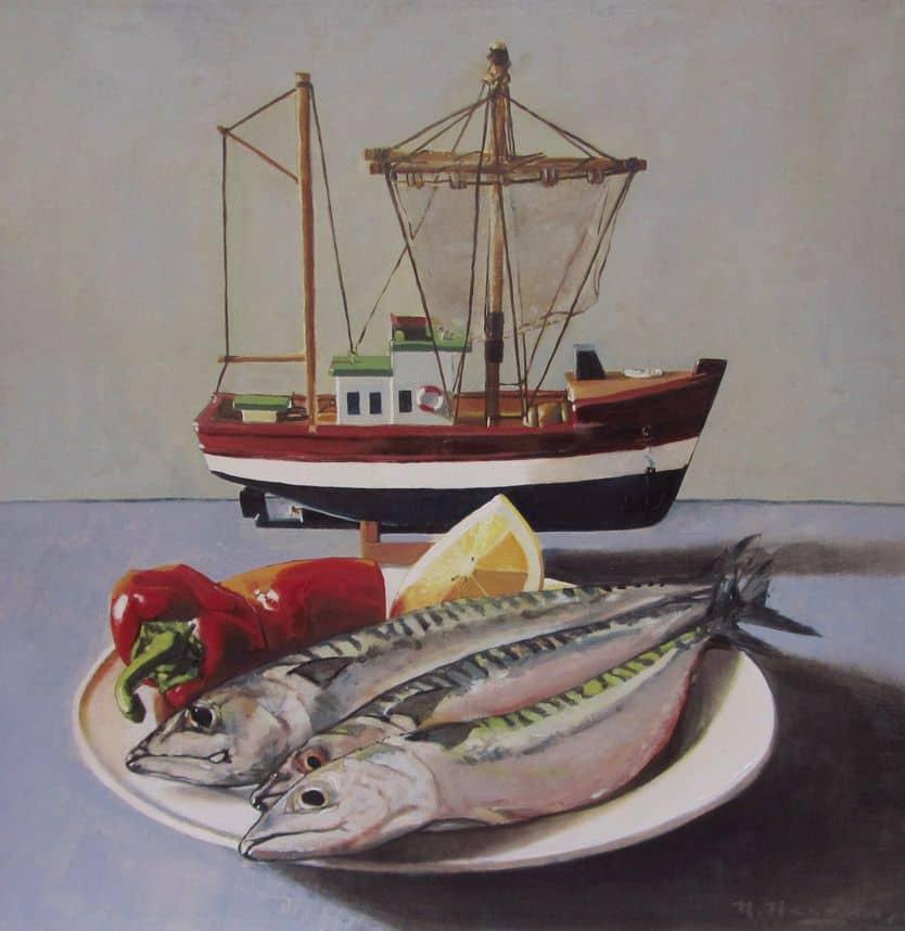 last of the summer mackerel by richard hearns