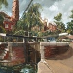 Regents Canal by Gerard Byrne