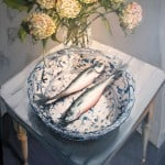 Mackerels on the Antique Chinese Plate by Gerard Byrne