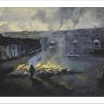 Bonna Night (Editioned Giclee Print) by Áine Ní Chíobháin