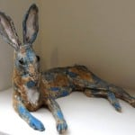 Resting Hare by Lynne Stratton