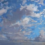 Clouds over Ventry Bay by Patsy Farr