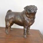 Standing Pug by Marie Ackers