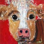 Original : Red Cow by Deborah Donnelly