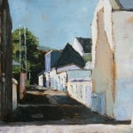 Strand Street Cottages by Eamon Regan