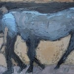 Blue Horse by Christine Thery