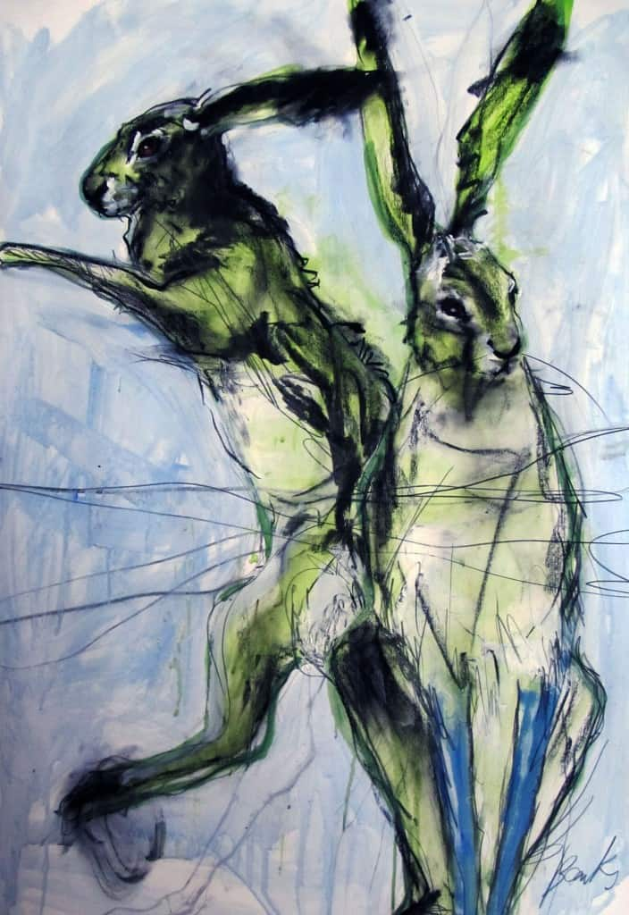 Two March Hares