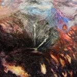 'Tinte Cnoic ar Chnoc Bhreanann', Mixed Media on Canvas, 30.5 x 30.5 cm (2)