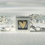 Heart of Gold Bracelet, 1 Heart, 165