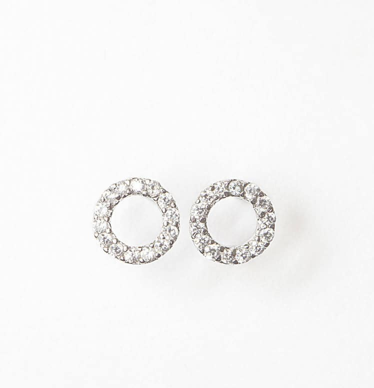 nichol sapphire open wendy circle pave products blue stud micro