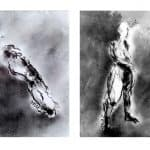 Two Life Drawings by Heidi Wickham