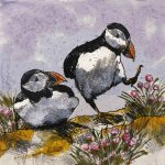 Dancing Puffins by Annabel Langrish