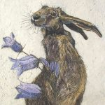 Hare with Harebell by Annabel Langrish