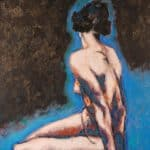 blue-nude-oil-on-canvas-e5500