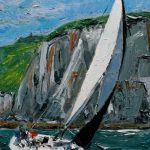 Close to the Wind, Dingle Harbour by Michael Flaherty