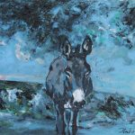 donkey-i-oil-on-panel-24-x-30-inches-e5500