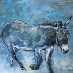Donkey II by Michael Flaherty: Irish Art by Greenlane Gallery Dingle