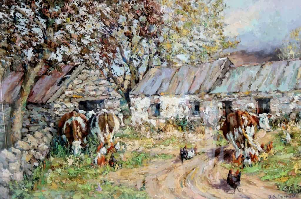 james-brohan-old-sheds-oil-on-canvas-24-x-36-inches-e16500
