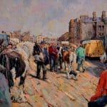 Smithfield Horse Market by James Brohan