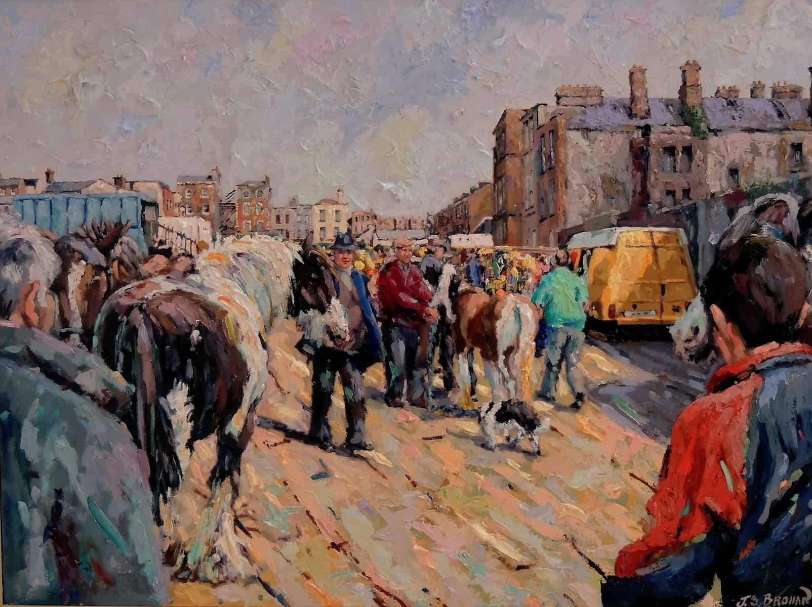 james-brohan-smithfield-horse-market-30-x-40-inches-e19500