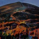 Fire on the Mountain, Martháin by Patsy Farr: Irish art at The Greenlane Gallery
