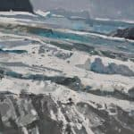 Patsy Farr, 'Winter White Water, Cloghar', Oil on Canvas, 61 x 76 cm