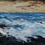 Brandon Bay, oil on panel, 19 x 29 cm, €650