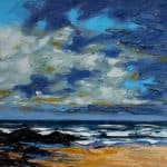 Fermoyle Sky, oil on panel, 31 x 41 cm, €2,500