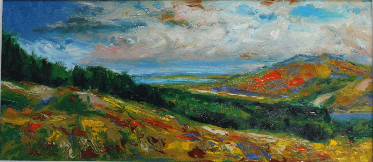 Glenteenassig, oil on panel, 21 x 27 cm, €1,500