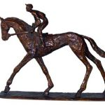 Horse & Jockey by James MacCarthy: Irish art at The Greenlane Gallery