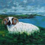 King Ram by Michael Flaherty: Irish art at The Greenlane Gallery