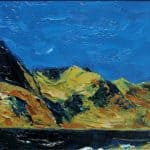 Loch Cruite, oil on panel, 24 x 40 cm, €1,250