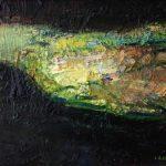 Oileán, oil on paper, 25 x 30 cm, €1,200