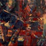 Patsy Farr, 'Scoil Cheoil an Eaircaigh', oil on canvas, 18 x 24 cm, €800