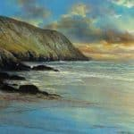 Sunset, Comenool Dingle by Liam Jones